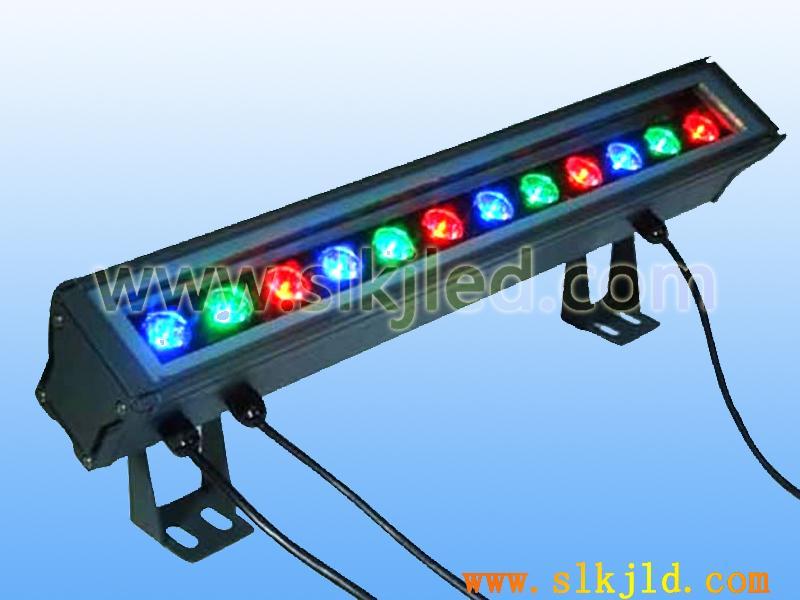 供应12W彩色大功率LED洗墙灯投光灯
