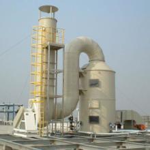 供应广东废气处理中含酸碱酸性成份用PP喷漆处理成本低图片
