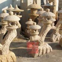 供应异型石雕灯笼 图片|效果图