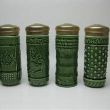 供应恬瓷浮雕图案养生杯高档商务礼品精美包装批发