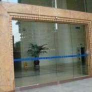 维修钢化玻璃门图片