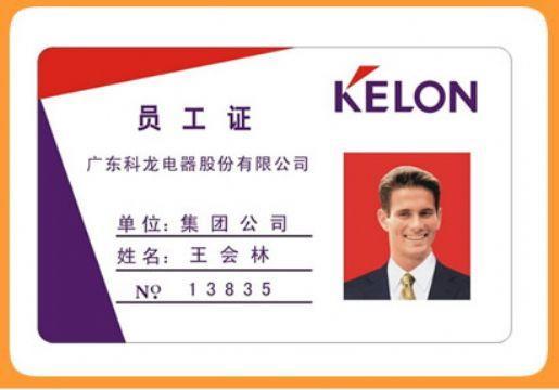 供应人像卡/会员证/出入证/通行证图片