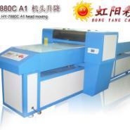 透明硅胶手环彩色图文打印机图片