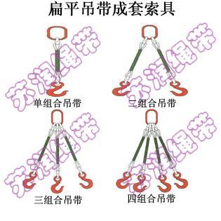 扁平吊带成套索具销售