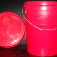 供应厂家直销20L壳牌红色油桶