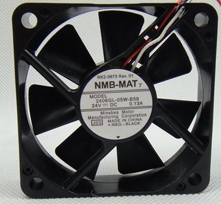 供应NMB6015 24V 风扇2406GL-05W-B59