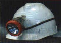 供应带灯矿工安全帽