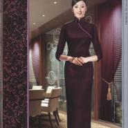 杭州酒店时尚迎宾制服定制设计图片