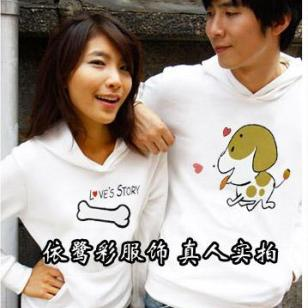 2012韩版情侣T恤批发厂家直销便宜图片
