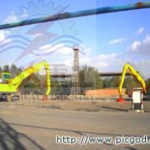 供应八达重工双动力履带式抓钢机卸废钢