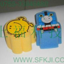供应海绵卡通玩具海绵丝印玩具