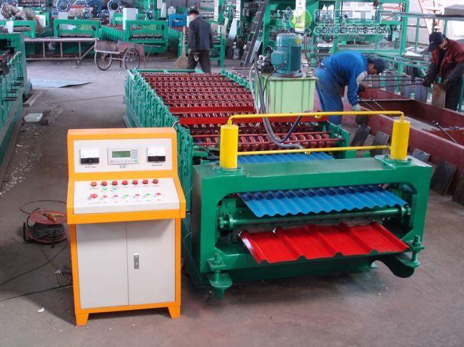 供应压瓦机彩钢设备