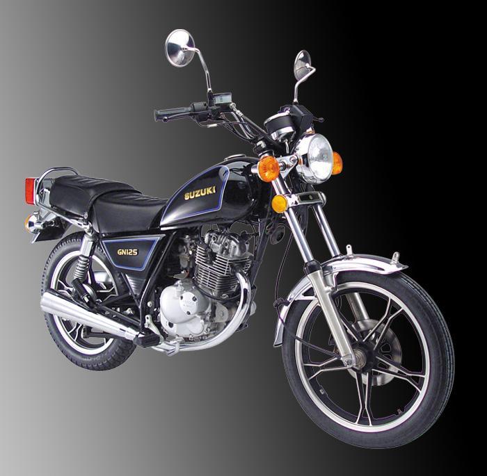 供应豪爵摩托车gn125-h 铃木太子车