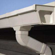 供应成品檐槽pvc雨水斗彩铝成品天沟图片