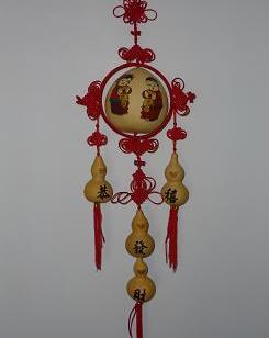 葫芦挂件民间工艺葫芦灯具图片