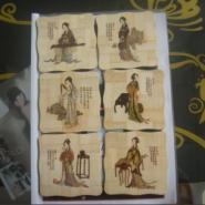 深圳竹木彩印加工木板印图案图片