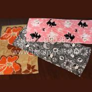 上海割绒活性印花广告毛巾图片