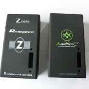电子烟盒喷黑色加橡胶油加丝印图片