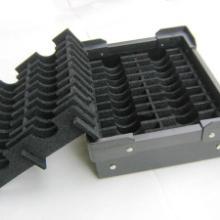 PCB车间周转泡棉箱导电XPE 导电XPE 周转箱配泡棉 XPE隔板 周转泡棉箱、防静电/导电XPE泡棉