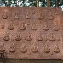 供应CDLZ成都联众铜壁画雕塑制作厂家直销