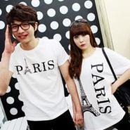 哪里有好看时尚韩版情侣装批发市场图片