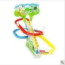 喜洋洋 音乐电动爬楼梯 滑梯 轨道玩具 儿童益智玩具批发