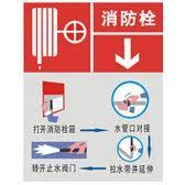 供应消火栓启动器消防水带、消防警示标志