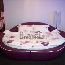 欧式皮床床架高档水床床架床垫床架批发