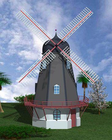 【欧式园林景观风车图片大全】欧式园林景观风车图片