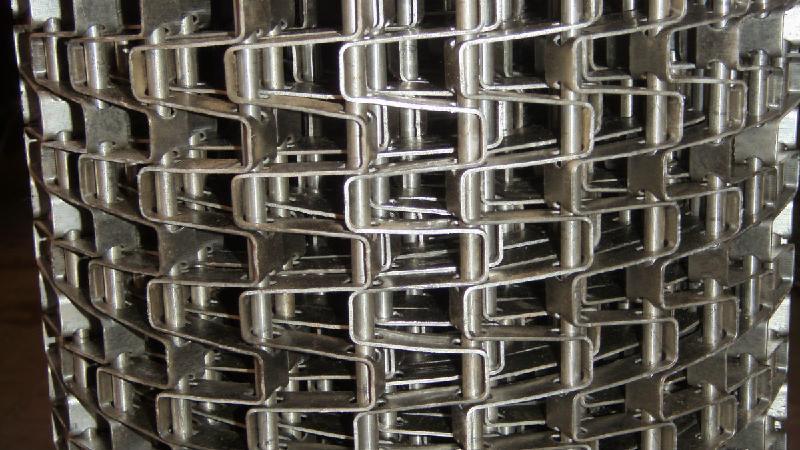 供应宁津哪家304不锈钢清洗机网链好金桥食品机械网链厂质优价廉品种全