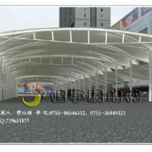 供应钢结构钢结构车棚膜结构车棚