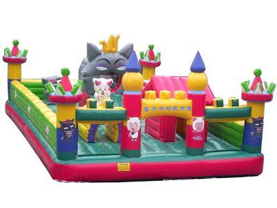 供应巴南区新款儿童充气城堡,重庆巫山县广场大型儿童淘气堡充气玩具大全
