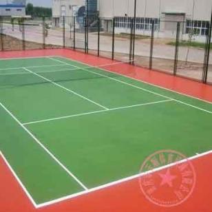 重庆恒大地产羽毛球场地施工单位图片