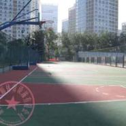重庆北碚丙烯酸篮球场图片