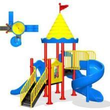 供应长寿区便宜儿童玩具,北区大型秋千滑梯玩具,重庆专业儿童游乐园加盟厂家小型塑料滑梯批发图片