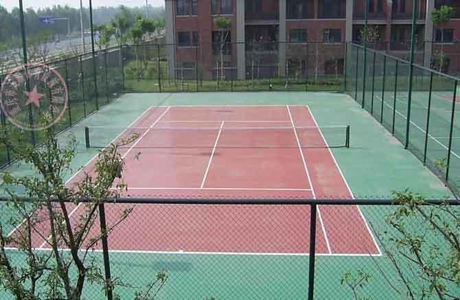 供应渝中区篮球场施工图片