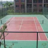 供应恒大地产网球场地施工单位江北区标准篮球场建设彩色塑胶地面设计