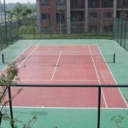 武隆县塑胶羽毛球场施工图片
