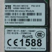 中兴联通3G模块MF210图片