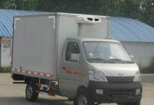 供应鹤岗长安2米3微型冷藏保鲜厢式车/小型冷藏车性能/小型冷藏车价钱图片