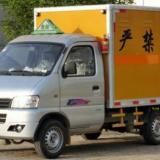 供应东风俊风国四防爆车额载0.5吨爆破器材运输车