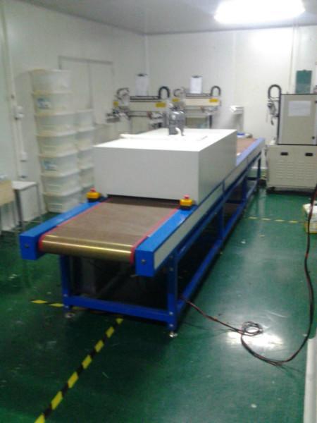 供应电容屏丝印烘干线图片