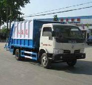 供应长沙楚胜国4长安密封式垃圾车