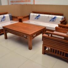 供应红木十大品牌家具客厅荷塘月色沙发中式实木家具
