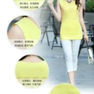 韩版修身蕾丝背心打底衫图片