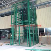 供应加工定做导轨链条式液压升降吊笼