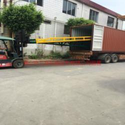 供應中山叉車裝卸平台集裝箱