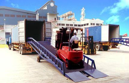 供应江苏集装箱卸货平台如何订购 找佛山三良机械