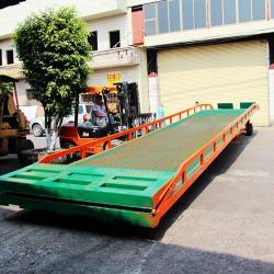 供應移動式卸貨平台集裝箱裝卸平台