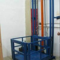 供应双轨双杆链条式导轨升降平台出售